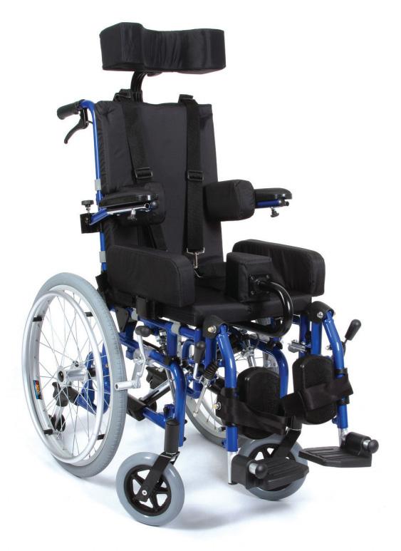 BACZUS RELAX - aluminijumska dečija invalidska kolica